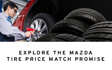 Mazda Tire Price Match Promise - 2016 update