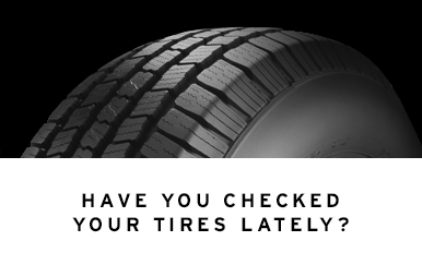 Have You Checked Your Tires Lately? - 2016 update